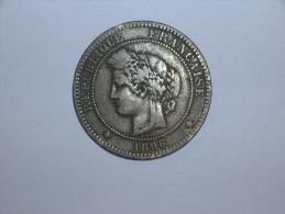 Francia 10 Centimos 1896 A (5383) - D. 10 Céntimos