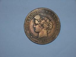 Francia 10 Centimos 1897 A (5384) - D. 10 Céntimos
