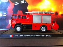 COLLEZIONE CARRI DEI POMPIERI - VIGILI DEL FUOCO DEL PRADO - FRANCIA 1999 FPTHR RENAULT M 210-14 CAMIVA SCALA 1:72 - Automobili