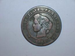 Francia 5 Centimos 1882 A (5401) - C. 5 Céntimos