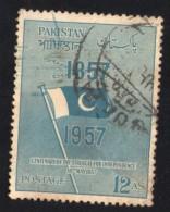 Pakistan 1957 Oblitéré Rond Used Stamp Centenary Of The Struggle For Independence - Pakistan