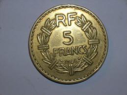 Francia 5 Francos 1946 (5408) - J. 5 Francos