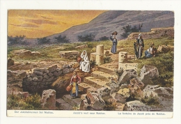Cp, Israël, Près De Nablus, La Fontaine De Jacob - Palestine