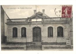 Cp, 44, Le Croisic, Le Théatre Municipal, Voyagée 1930 - Le Croisic