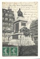Cp, 75, Paris, Statue D'Alexandre Dumas, Voyagée 1907 - Frankrijk