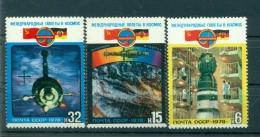Russie - USSR 1978 - Michel N. 4763/65 - Intercosmos - 1923-1991 USSR
