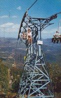 Whiteface Mount Ski Center Chair Lift Lake Placid New York 1966