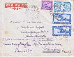 INDO-CHINA  CAMBODIA  TO  PARIS  AND FORWARDED - Indochina (1889-1945)