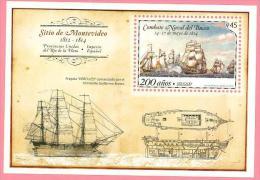 Uruguay 2014 ** BF 200 Años Del Combate Naval De El Buceo. See Description. - Historia