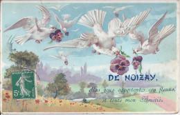 De Noizay Elles Vous Apportes Des Fleurs Et Mon Amitie - France