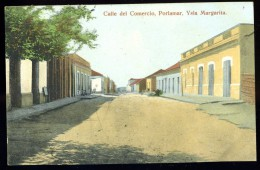 Cpa  Mexique Ysla Margarita , Porlamar , Calle Del Comercio   MAI13 - Mexique