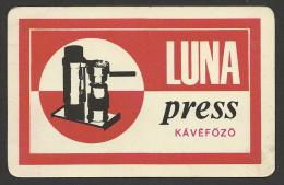 """Hungary, """"Luna Press"""", Espresso Maker, 1968. - Calendriers"""