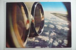 CARTE COMPAGNIE / AIRLINE ISSUE     IL 62  INTERFLUG - 1946-....: Era Moderna