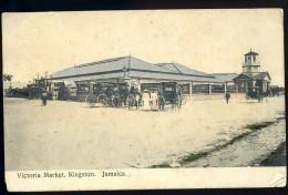 Cpa  Jamaica Victoria Market Kingston     ...  Jamaique     MAI13 - Jamaïque