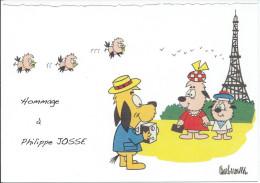 CP Hommage à Philippe JOSSE, BARBEROUSSE 1920-2010 (Dessinateur De Presse) - Ansichtskarten