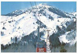 (PH  230) Return To Sender - USA To Australia - Jackson Hole Aerial Tram - Teton Village - Etats-Unis