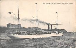 """¤¤  -  327   -  Le Paquebot Des Messagerie Maritimes """" ARMAND BEHIC """" En 1909  -  ¤¤ - Dampfer"""