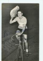 Roger CHARDON,  Autographe Manuscrit, Dédicace. 2 Scans. - Ciclismo