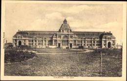 Cp Tournai Wallonien Hennegau, La Gare, Bahnhof, Vorderansicht - Belgium