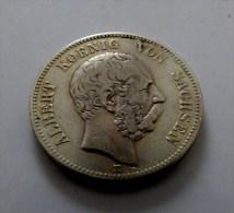 MONNAIES ARGENT ZWEI  MARK 1888 E      QUALITE - [ 1] …-1871 : German States