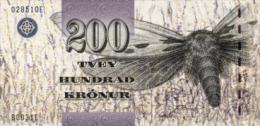 Faroe Island 200 Kronur 2003 Pick 26 UNC - Féroé (Iles)