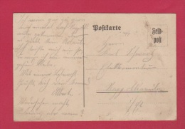 ALLEMAGNE  //  FELDPOSTKARTE  //  POUR RAPPOLTSWEILER  // 29/8/1914 - Briefe U. Dokumente