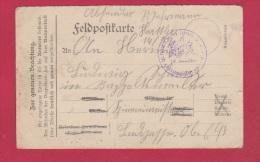ALLEMAGNE  //  FELDPOSTKARTE  //  POUR RAPPOLTSWEILER  // - Briefe U. Dokumente