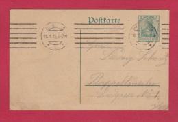 ALLEMAGNE  //  POSTKARTE  //DE HAMBURG  POUR RAPPOLTSWEILER  // 16/1/1915 - Ganzsachen