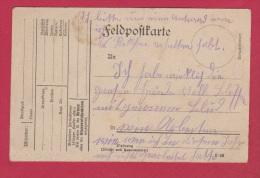 ALLEMAGNE  //  FELDPOSTKARTE - Briefe U. Dokumente
