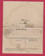 ALLEMAGNE  //  FELDPOSTKARTE  VIERGE //  AVEC COUPON REPONSE - Briefe U. Dokumente