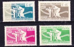 COLONIES FRANCAISES   EMISSIONS GENERALES  YT  60 A 64   AVEC VARIETE SUR N° 60  ET 64    ** - France (ex-colonies & Protectorats)