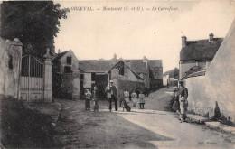 ¤¤  -   ORGEVAL   -  MONTAMET   -  Le Carrefour  -  ¤¤ - Orgeval