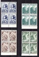 Griechenland - Luftpost Mi.# 588-591 ** In Viererblock - Poste Aérienne
