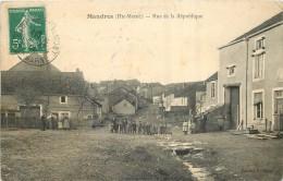 MANDRES  Rue De La République - Other Municipalities