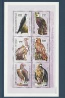 Tchad 2002 ** Bloc Rapaces Aquila Aigle Eagle Harpie Vautour Vulture Harpia - Aigles & Rapaces Diurnes