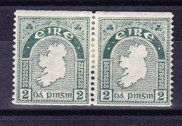 Irland - Rollenmarken SG.# 74a In Paar * - 1922-37 État Libre D'Irlande