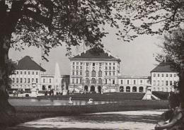 CPA MUNCHEN-NYMPHENBURG CASTLE, COURT, POND - Muenchen
