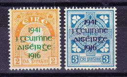 Irland - 1941 SG.# 126 + 127 * - 1937-1949 Éire