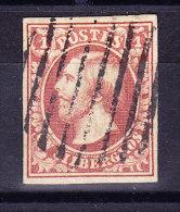 Luxemburg - 1852 Mi# 2 Gestempelt - - 1852 Guillaume III