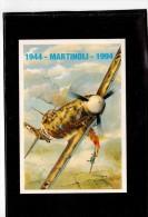 7125  -   50° ANN. SCOMPARSA PILOTA  TERESIO MARTINOLI - 1939-1945: 2a Guerra