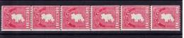 1940 - Rollenmarken - 6er Streifen SG 112b ** - 1937-1949 Éire