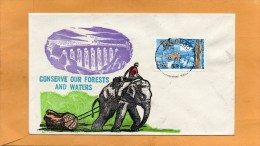 Ceylon Sri Lanka 1966 FDC - Sri Lanka (Ceylon) (1948-...)