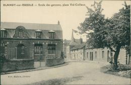 76 BLANGY SUR BRESLE / école Des Garcons Place Val Cailleux  / - Blangy-sur-Bresle