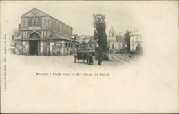 76  BOLBEC / Place Félix Faure Halle Aux Grains / - Bolbec