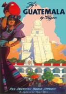 @@@ MAGNET - Pan American Air Lines GUATEMALA - Pubblicitari
