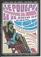 Carte Publicitaire REIGNIER 74, LE POULPE: Bar, Resto, Concerts  - 30 Juin 2007 - Advertising