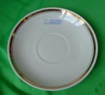 Vintage Latvia Ventspils Restaurant KOSMOSS Collector Desert Salad Plate RPR Riga Rare - Ceramics & Pottery