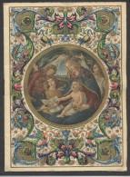7655-CALENDARIO(FORMATO 12,8x17,7 CM. ) DEL 1933-MADONNA CON BAMBINO - Calendari