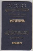 Passeport LAOS Passport 1966 - Historische Documenten