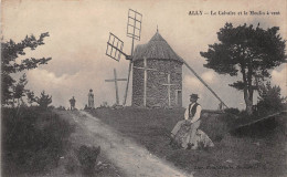 ¤¤  -  ALLY   -  Le Calvaire Et Le Moulin à Vent   -  ¤¤ - France